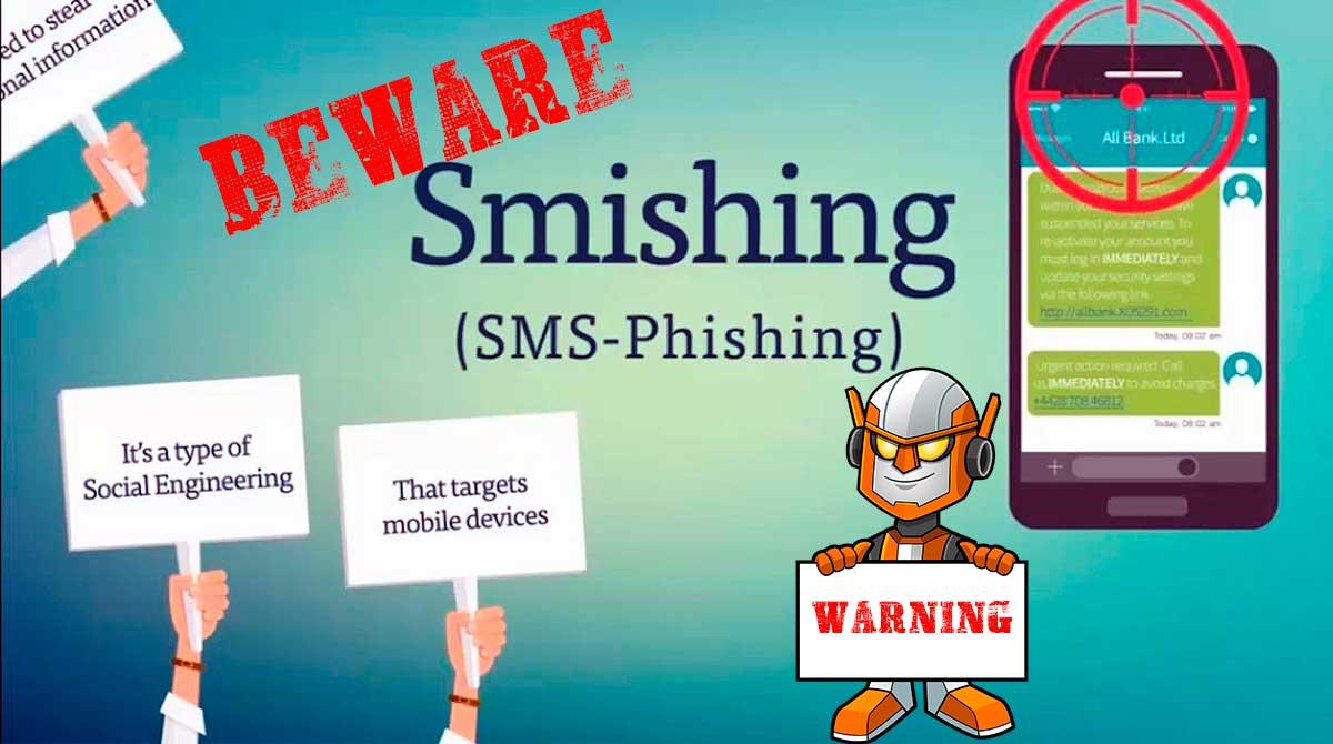 Beware Smishing